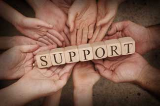 Support groups offer benefits to patients and caregivers