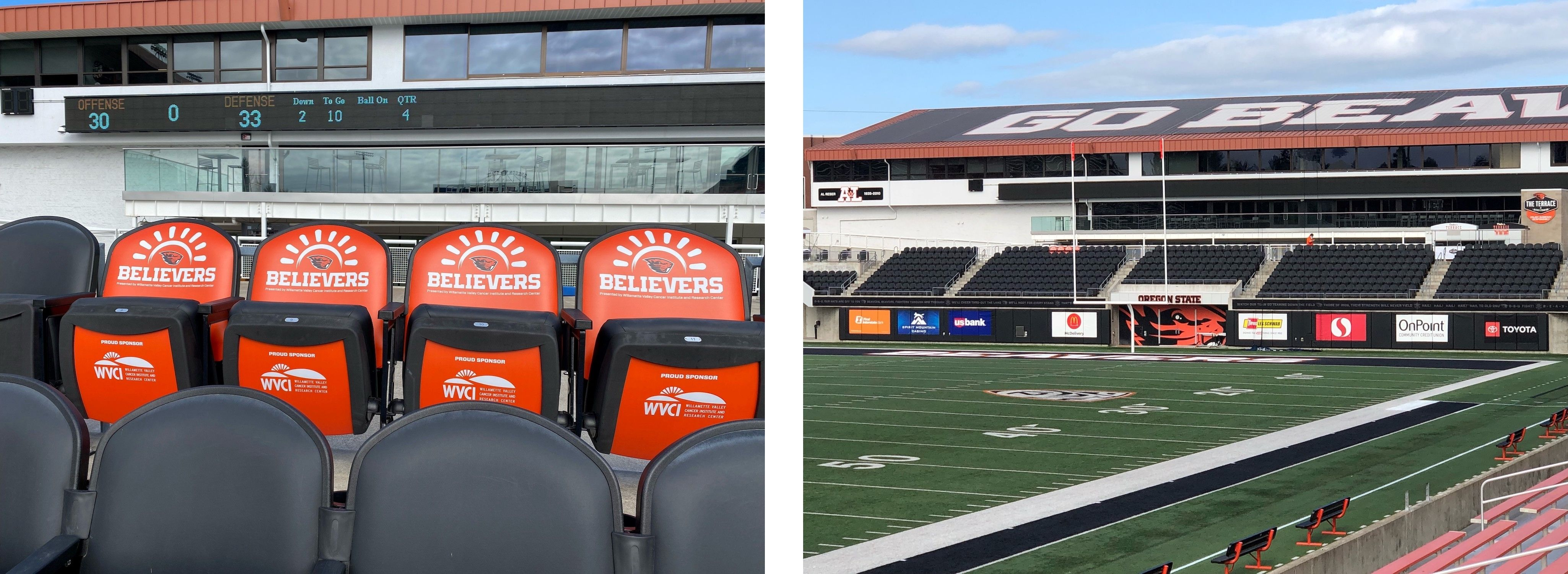 beaver believer program - seats